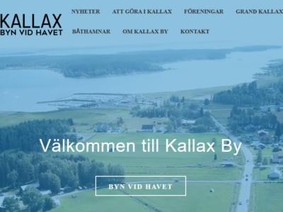 Nya www.kallaxby.se releasas